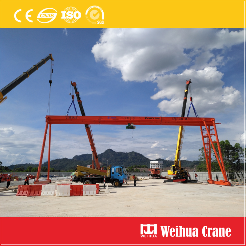 hoist-gantry-crane-installation