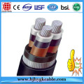 0.6/1KV Aluminum Conductor XLPE Insulation Underground Cable
