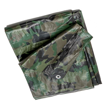 waterproof camouflage PE tarpaulin sheet