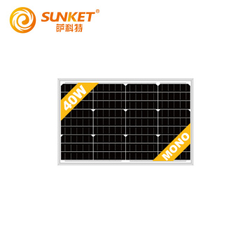 OEM energy system module manufacturing solar panel 40w