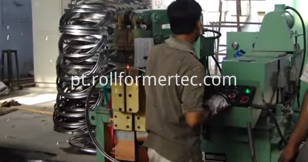 bicycle axle rol forming machine