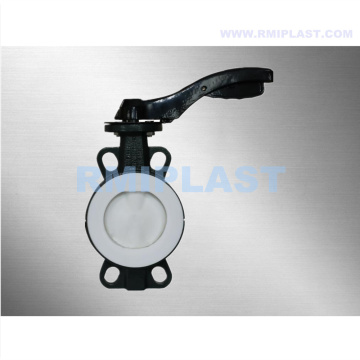 PTFE Liner Wafer Butterfly Valve ANSI CL150