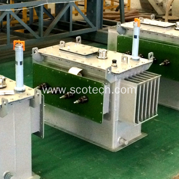 50KVA 0.525/0.4KV oil immersed distribution transformer
