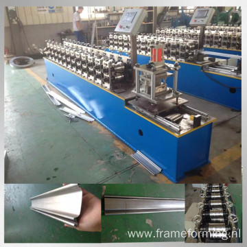 steel shutter door slat roll forming machine