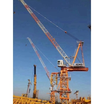 how they build tower cranes