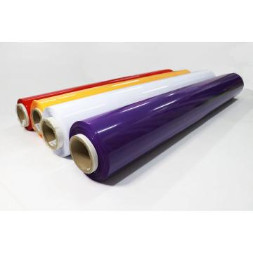 Colorized colored Rigid PVC rolls Sheet