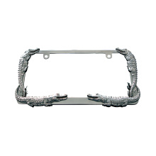 America Zinc Alloy License Plate Frame