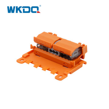 DIN Rail Mounting Connector Carrier