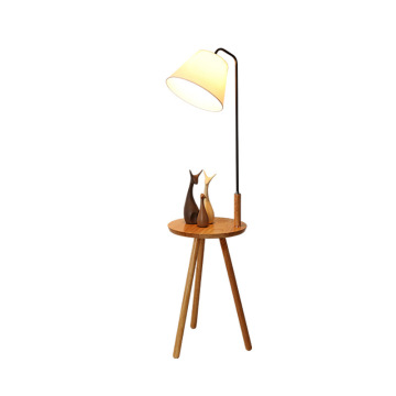 Wooden Tall Bedroom Lamps