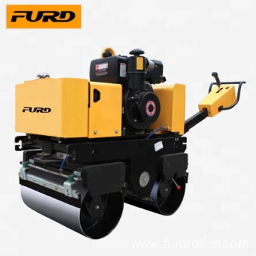 FYL800C New 1 ton Hand Push Mini Road Roller for Compaction Work
