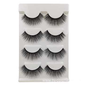 3D Siberian Mink False Strip Lashes Top Grade Material Whole Sale Custom Box Package