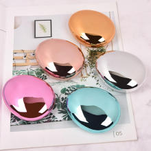 1Pcs Colored Contact Lens Case With Mirror Women Man Unisex Contact Lenses Box Eyes Contact Lens Container Lovely Travel Kit Box