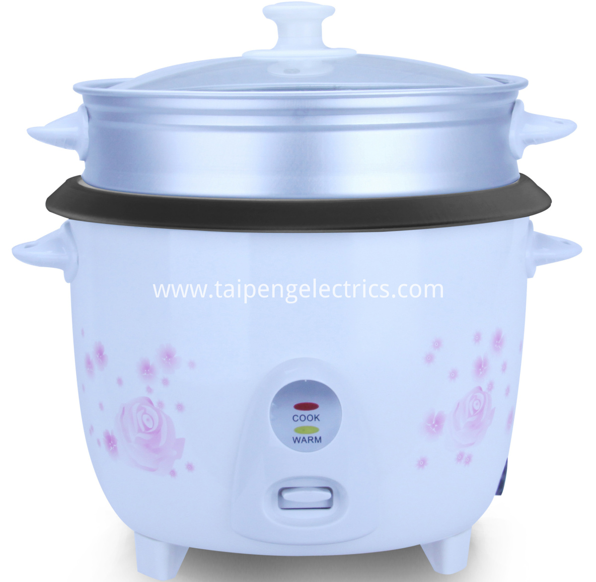 Industrial drum rice cooker