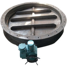 Butterfly valve with spindle