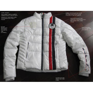 fashion men's jacket in winter