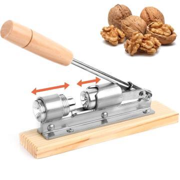 Manual Stainless Steel Pecan Nut Cracker Pecans Walnuts Adjustable Nutcracker Hazelnut Filbert Almond Plier Brazil nuts Sheller