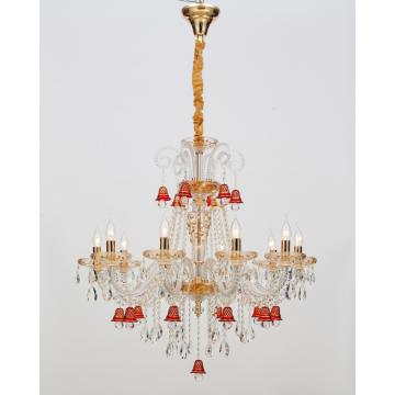 European Style Artistic Restaurant Design Crystal Chandelier