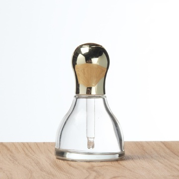 40ml trangle shape glass dropper bottle