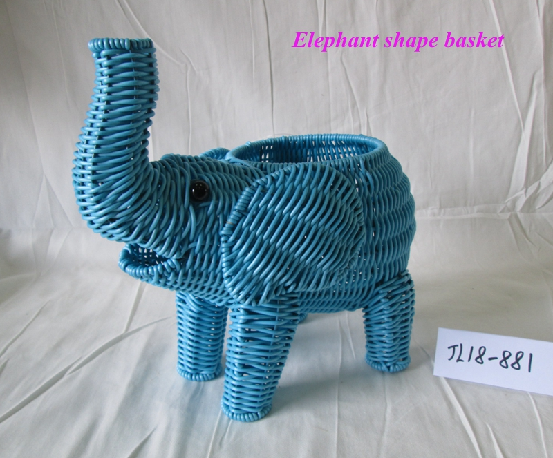 animal shape basket