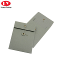 A5 size paper envelope with button string