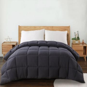 Down Alternative Quilted Comforter Queen Size Bed