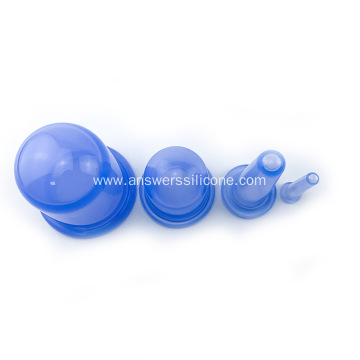 Tradition medical therapy silicone vacuum cupping set