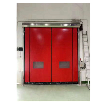 Industrylọ ọrụ ọhụụ PVC Fabric High Speed ​​Door