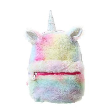 MINI 3D UNICORN PLUSH BACKPACK-0