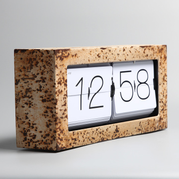 Big Brick Flipping Clocks