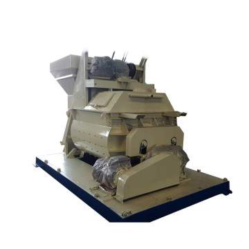 Dual horizontal shaft concrete mixer for sale