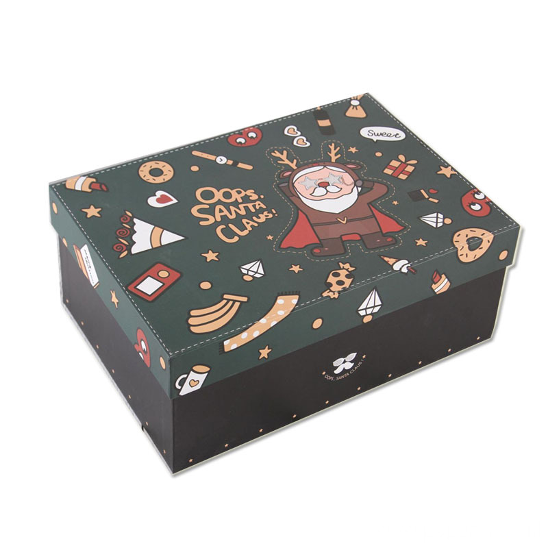High Quality Greyboard Christmas Gift Box With Lid