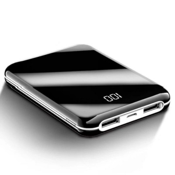 Vendita calda di design a specchio mini power bank