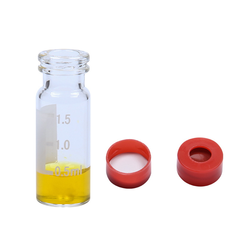 Wide Opening 2ml Snap Glass Vial
