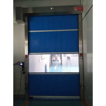 High speed door with pvc Curtain like Chasedoors