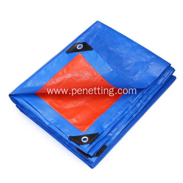 Polyethylene laminated PP fabric cotated PE tarpaulin