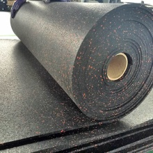 High density commercial rubber flooring mat
