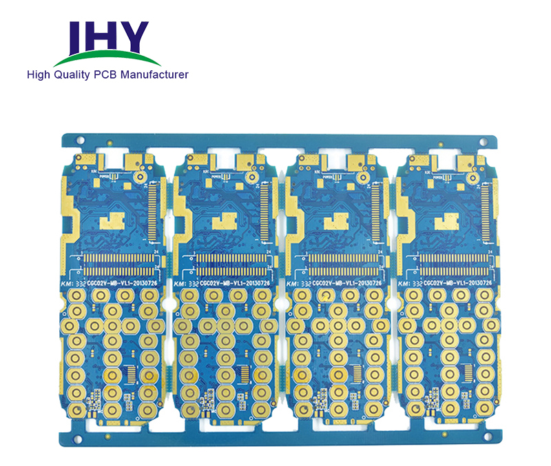Heavy Copper 6 Layer Gold Finger PCB Board Manufacturer