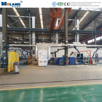 Industrial Welding Fume Extraction Air Purification System