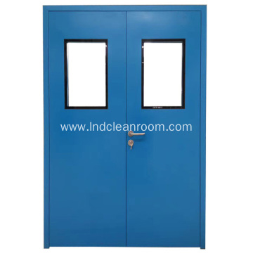 Clean room door factory use