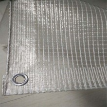 Flame retardant clear transparent greenhouse leno tarps