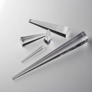 Optical Cube Prism Tapered Light Pipe Homogenizing Rods