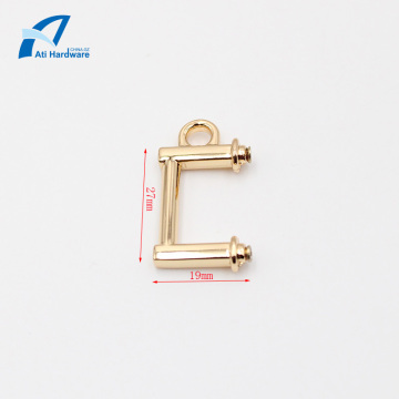 Metal Handbag Handle Decorative Hardware for Ladies Bag
