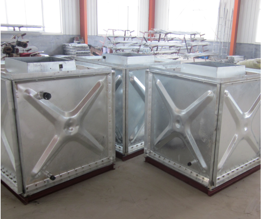 Galvanizd Water Tank For Roof Of Building