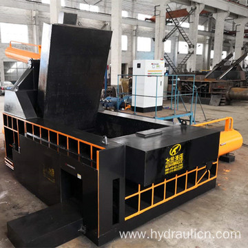 Push-out Scrap Metal Steel Compacting Baler Machinery