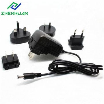 14V1A 14W AC Multiple Interchangeable Plug DC Adaptor