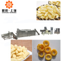 Extrusion puffed corn snack making machine