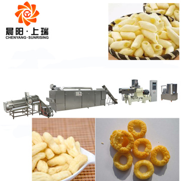Corn ring food machinery corn puffed snacks machine