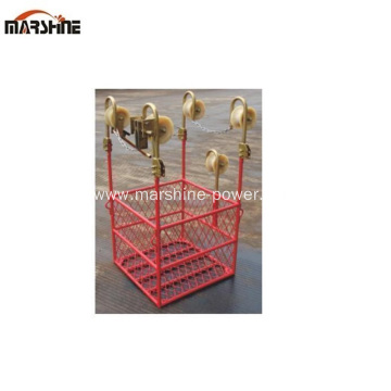 Three Bundle Conductors Line Cart