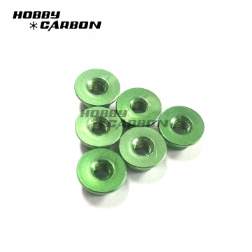 Aluminum Alloy Flange serrated Self Lock Nut