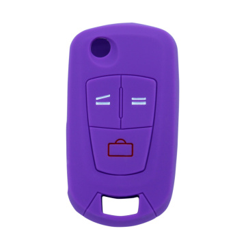 Colorful Silicone Protective Car Key Cover for Opel